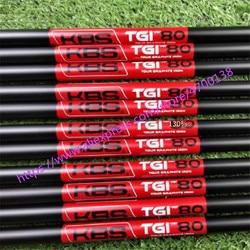 Nuevo 10 piezas negro KBS TGI 60/70/80 Color negro Golf grafito eje KBS grafito Golf eje para planchas de Golf DHL envío gratis