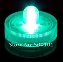 100pcs/lot green operated  LED TEA LIGHT SUBMERSIBLE CANDLE WATERPROOF FLORAL ARRANGEMENTS LIGHTS wedding  decoration 2017 submersible remote control floral tea light candle flashing waterproof wedding party decoration hookah shisha led light