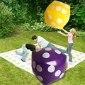 Hot Selling Inflatable Multi Color Dice Stage Props Children Birthday Party Favors Kids Outdoor Game Play Tools Random Color