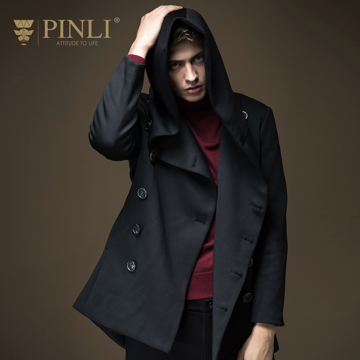 2017 Direct Selling New Mens Overcoat Long Coat Men Pinli Product Made And S16336203 Paragraph Dust