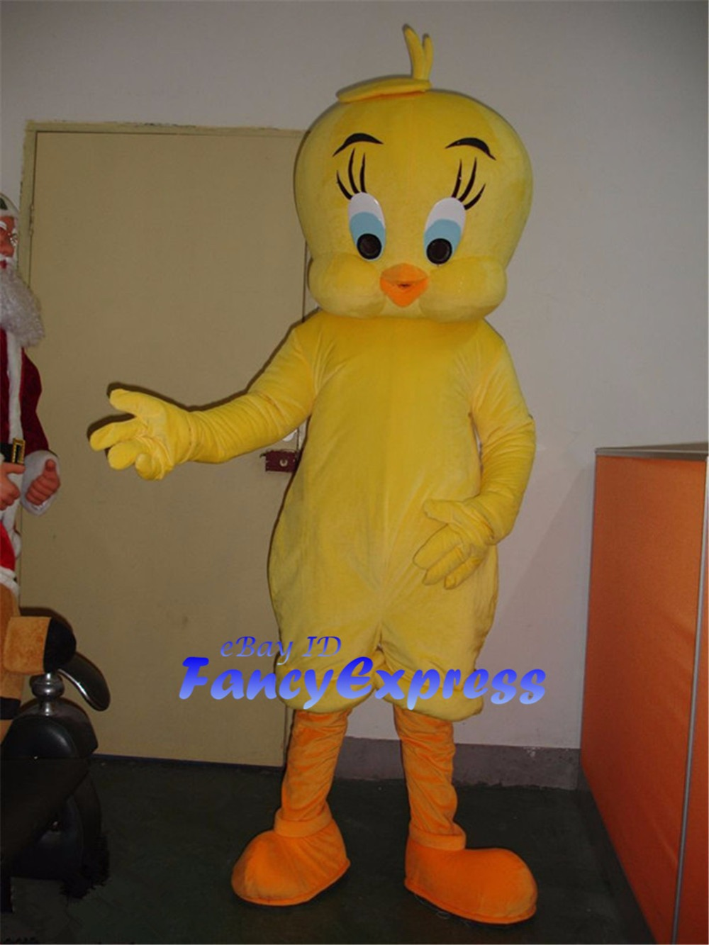 looney tunes tweety bird mascot costume birthday party fancy cosplay