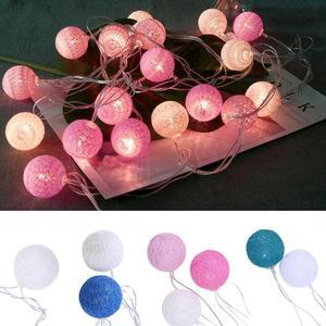 20LED Cotton Ball Fairy String