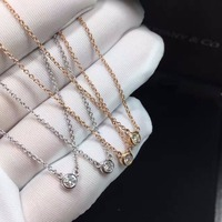 TN049 925 Sterling Silver Necklace With Box