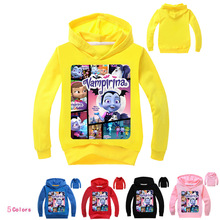 Z&Y 2-16Years  Disfraz Vampirina Costume Coat Babygirl Jacket Boys Girls Autumn Coats Hoodies Outerwear Camo Child Fashion