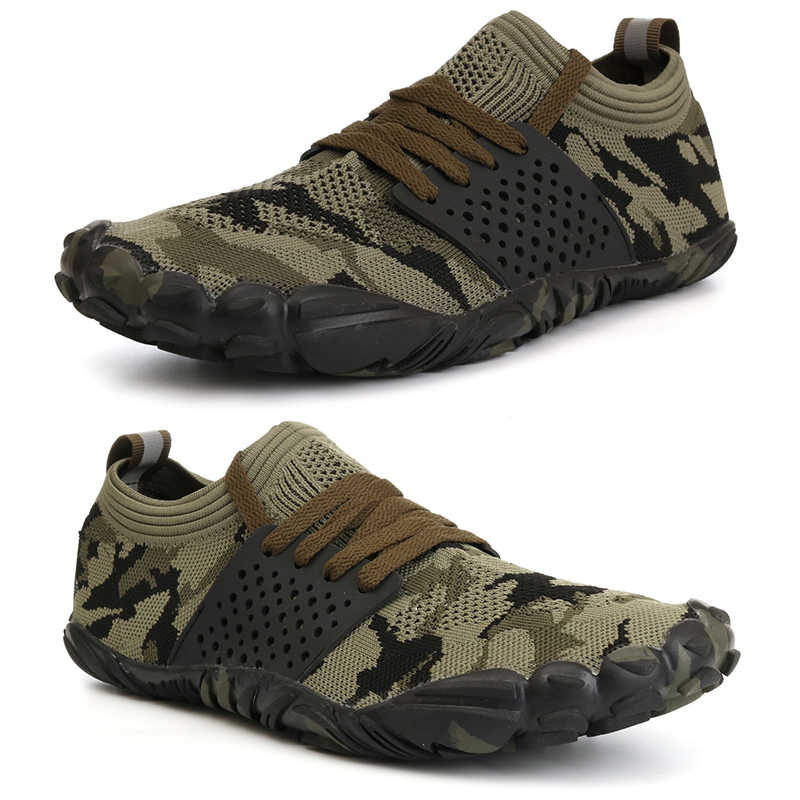 2019 Men Water Shoes High Quality Five Toe Breathable Non Slip Couple Sneakers Indoor Yoga Barefoot Couple Sport Footwear Aqua