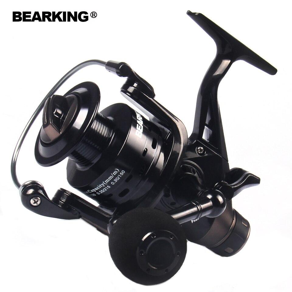 Bearking Moulinet De Pêche À Double Frein Carpe Chargeur De Pêche 2017 Spinning Reel Fishing Reel Qualité 3000 4000 5000 6000