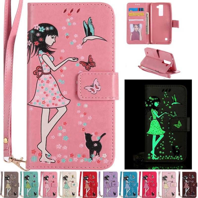 Sunjolly ношения обуви кожаный чехол флип слот для карты бумажник девушка крышка телефона Fundas Coque для LG G6 K3 K7 K8 k10 2017 xPower LS775