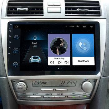 FEELDO 10.2inch Bigger HD Screen Android 8.1 Quad Core Car Media Player With GPS Navi Radio For Toyota Camry XV40/Daihatsu Altis