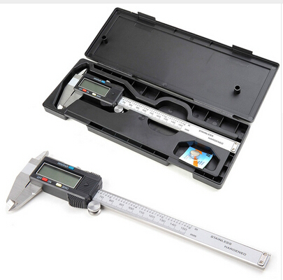 1pcs Digital Vernier Caliper 150mm/6inch With Box Stainless Steel Electronic Vernier Calipers LCD Paquimetro Micrometer  цены