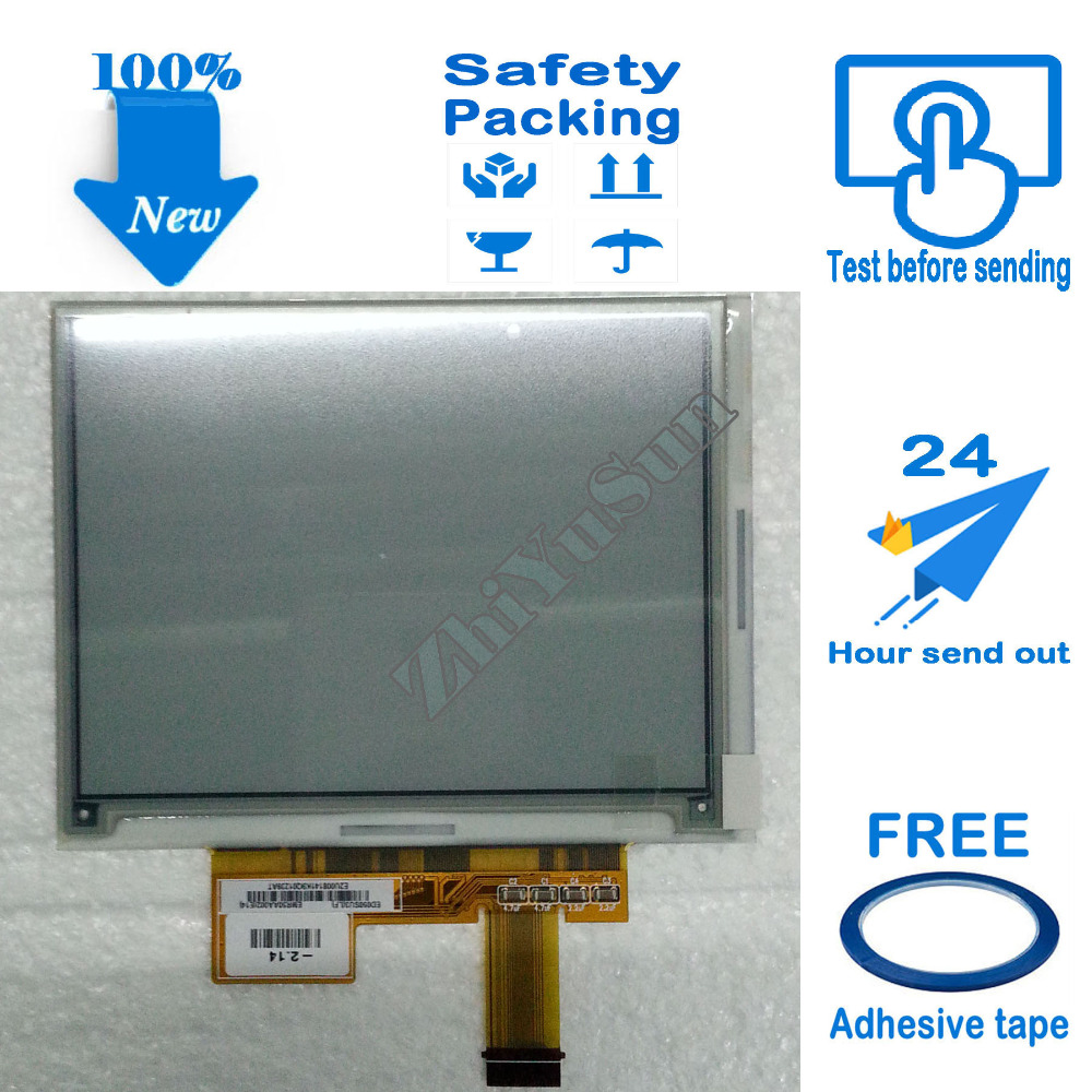 Free Adhesive Tape original 5 inch ED050SU3 screen LCD display for Pocketbook 515 Mini pb515,ebook screen ebook display ePaper new original 5 inch e ink lcd display screen for pocketbook 360 ed050sc3 lf