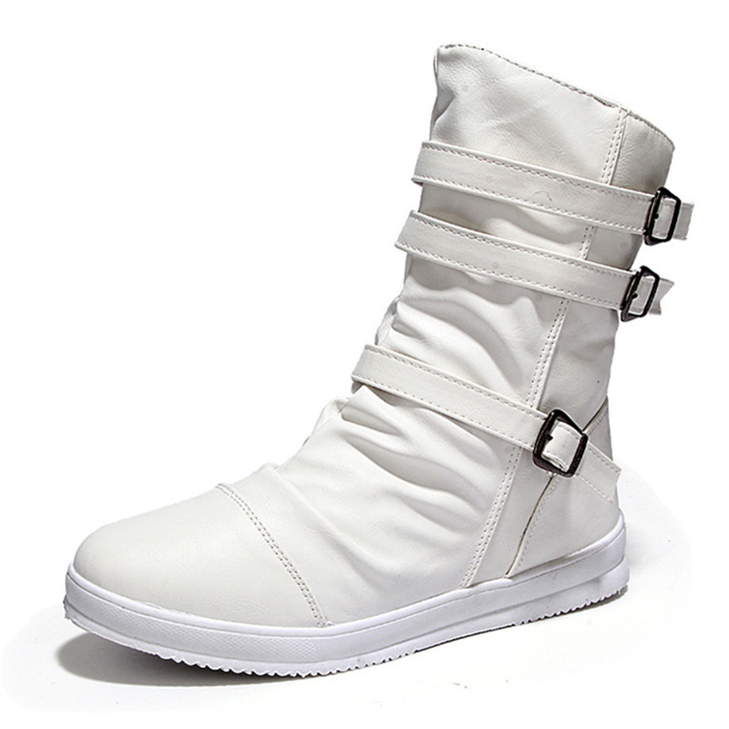 Popular Men White Boots-Buy Cheap Men White Boots lots from China ...
