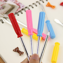 3PCS Office Stationery Pen Creative Novelty Screwdriver Shape Ballpoint Pens Learning Essential Kids Gift Reward