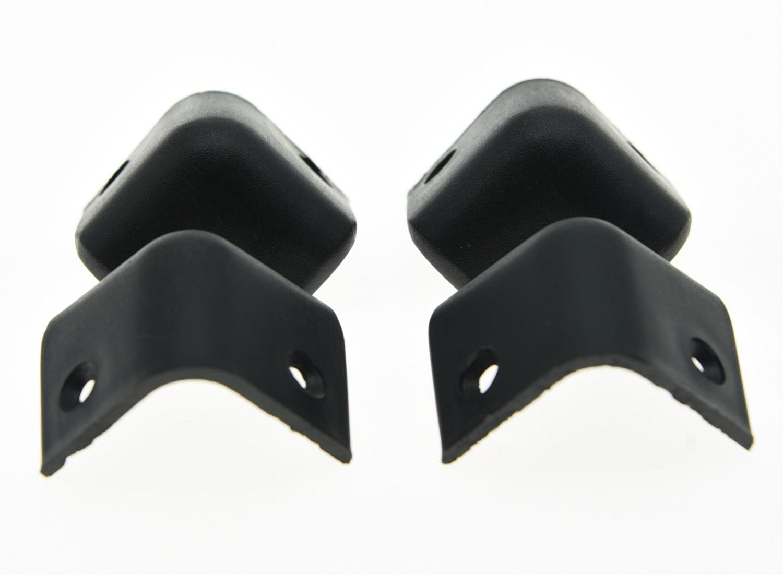 KAISH8x hard plastic 2-gaats gitaar AMP cabinet hoeken - Muziekinstrumenten - Foto 2