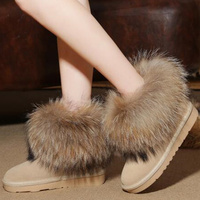 MIQUINHA Sandalias Mujer White Furry Faux Fur Embellished Leather Women Ankle Wrap Sandals Open Toe Platform