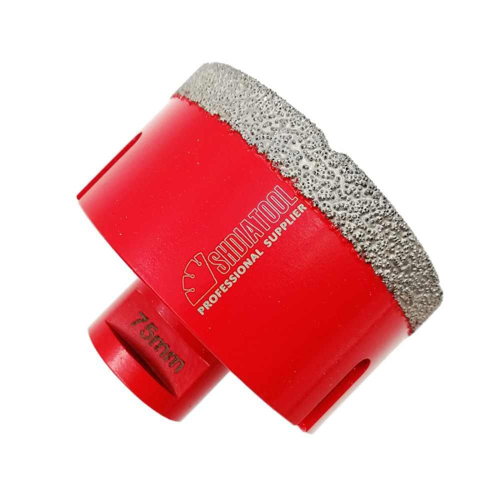 Diatool 1 шт. ВАКУУМНОЙ ПАЙКИ DIAMOND бурения коронки с M14 соединения сверла 10 мм Diamond высота отверстие Пилы