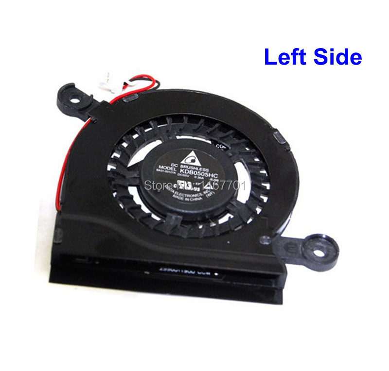 Original Laptop CPU Cooling Fan For Samsung NP-900X3C 900X3D 900X3E 900X3F 900X3B 940X3G BA31-00121A BA31-00122A KDB0505HC-BJ98 image