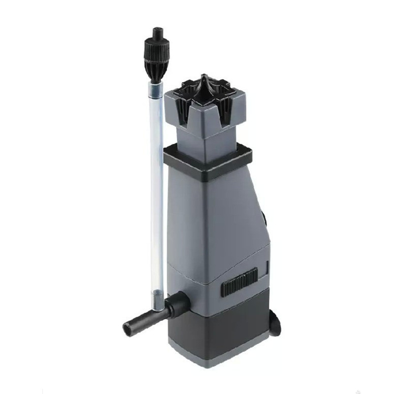 3W Aquarium Surface Protein Skimmer Fish Tank Skimmer Filter Pump Remove Oil Water Air Circulation For Fish Water Plant