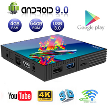 Android TV Box A95X R3 4GB RAM 64GB ROM Smart Android 9.0 Boxes RK3318 Dual Band Wifi 4K ULTRA HD Media Player Home 3D Theatre недорого