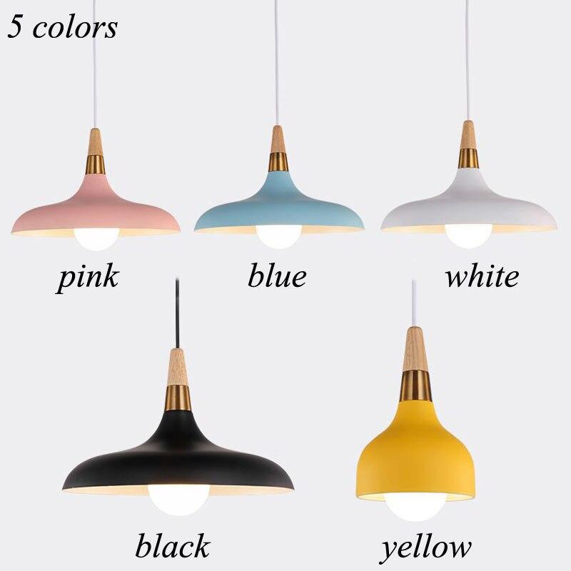 Lampara Colgante Pendant Lights Lustres Abajur Pendant Lamp Luminaire Hanglamp Wood Aluminum Lamp Shade For Home Lighting Dining (17)