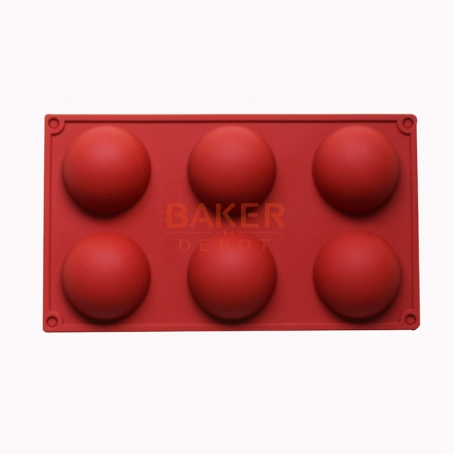 6 even the large domed  DIY silicone cake mold soap mold Jelly pudding silicone chocolate mould CDSM-216