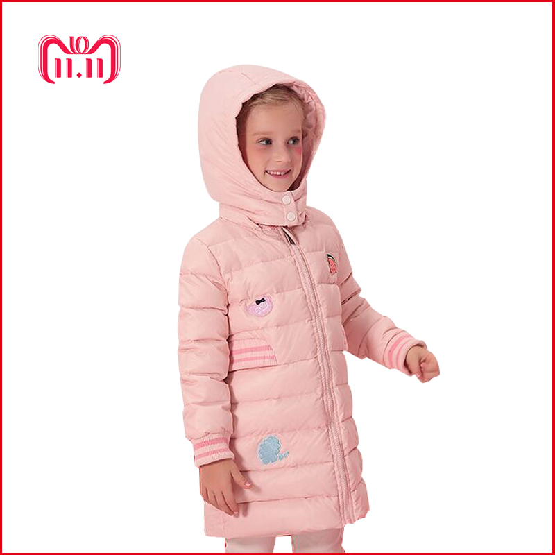 girl winter coat 2018 winter jacket for girls down coat with hood 3-12 years child coat winter white duck snowsuit luxury 2016 women s winter luxury down coat w a hood 90