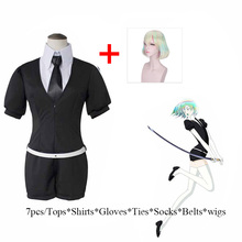 Anime Gem Country Anteku Adult Cosplay Costume Girl Student Uniform Halloween Carnival Party Show Dress