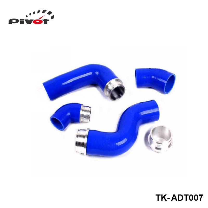 где купить  Tansky - Silicone Turbo boost Intercooler Hose Kit For Audi New TT A3 TFSI TDI (4pcs) TK-ADT007  по лучшей цене