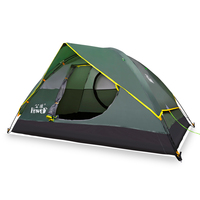2018 Double Tent Outdoor Automatic Speed Open Throwing Pop Up Windproof Waterproof Camping Tent Large Space