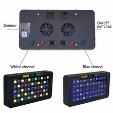 Marshydro Dimmable 165 w LED Aquarium Lumière Plein Spectre pour Récif de Corail Marin