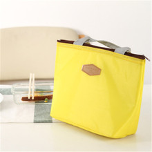 iMucci Lunch Bag Thermal Insulation Waterproof Portable Picnic Insulated Food Storage Box Tote Fashion For Women Men