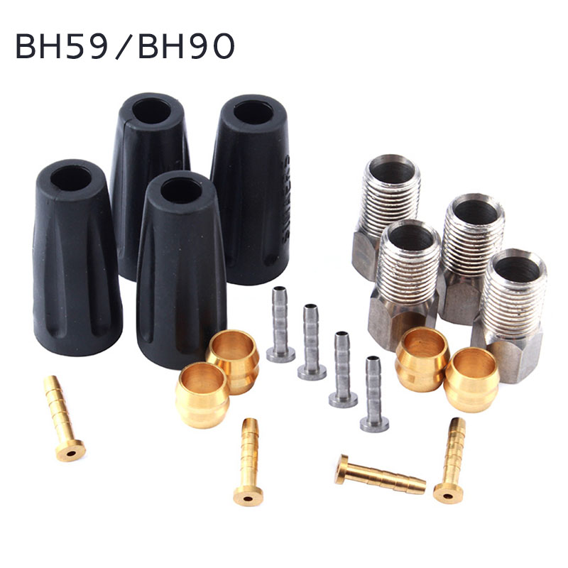 MUQZI Bicycle Oil Needle Olive Head Suit Bh90 /Bh59 Tubing Pipe Oil Hydraulic Disc Hose Pressing Ring T Brake Accessories