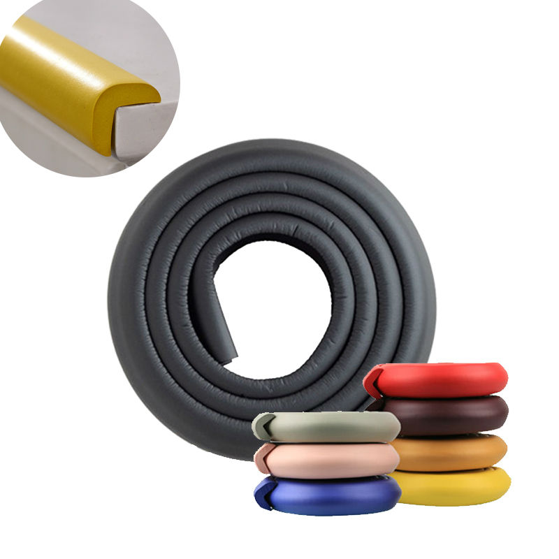 2019 New Arrival Hot 2M Child Protection Corner Protector Baby Safety Guards Edge & Corner Guards Solid Angle Form Single Loaded