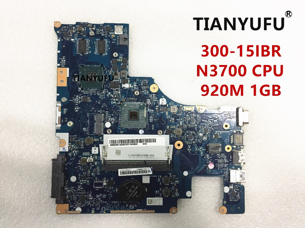 NEW BMWC1 BMWC2 NM A471 Motherboard FOR LENOVO 300 15IBR Laptop motherboard With N3700 CPU 920M