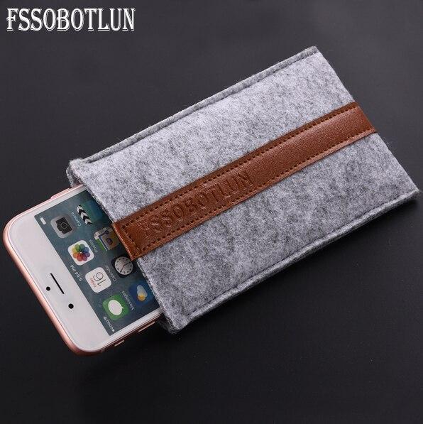 FSSOBOTLUN, 6 видов стилей для Huawei Mate RS Porshe Design/Honor Play 7A Standart 5,7-6,0, сумка, чехол ручной работы, шерстяной войлок, чехол