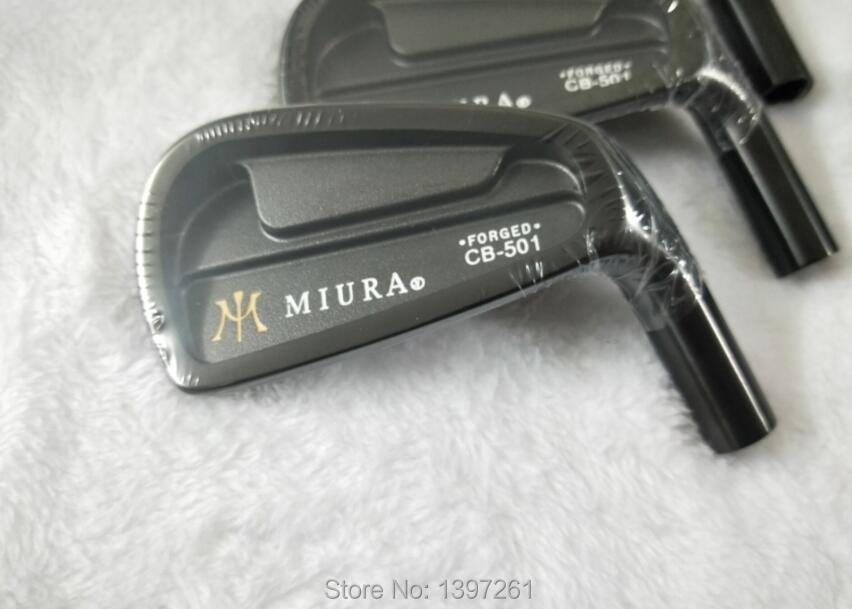 Golf Clubs MIURA CB-501 FORGED Golf Irons Set 4-9P   Steel Shaft MiURA Golf Forged Iron With Head Cover Clubs Set