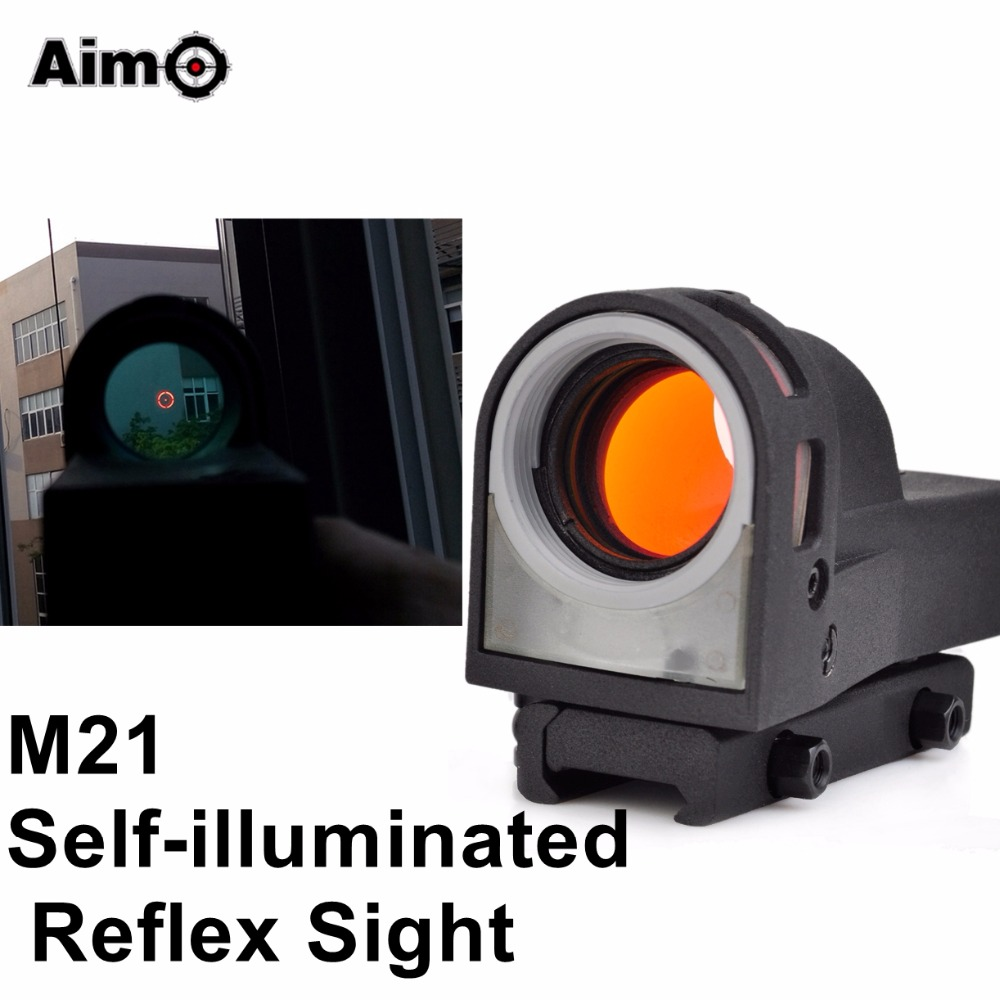 Aim-O Day Vision Sight Sensor For Rifle Spotting Scope Aiming Red Dot Riflescope Self Illuminated M21 AO3045