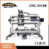 New CNC 2418B GRBL DIY Control Laser Engraving Machine 3 Axis PCB Milling Machine Wooden Engraving