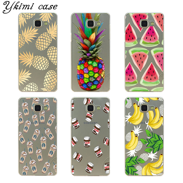 low priced b38c6 8b91d US $1.53 18% OFF|Delicious watermelon pineapple banana phone cases For  Samsung Galaxy A3 A5 A7 J1 J5 J7 2015 and 2016 case transparent hard  cover-in ...