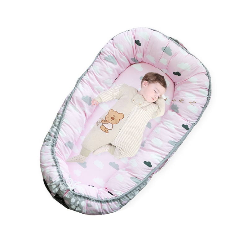 Portable Crib For Newborns Baby Bedding Foldable Travel Bed For Infant With  Bumper Bionic Cot Mattress In Baby Cribs From Mother U0026 Kids On  Aliexpress.com ...
