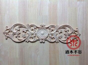 Do not forget to log in Dongyang wood wood flower flower applique European cross vertical window decal fireplace door flower bed