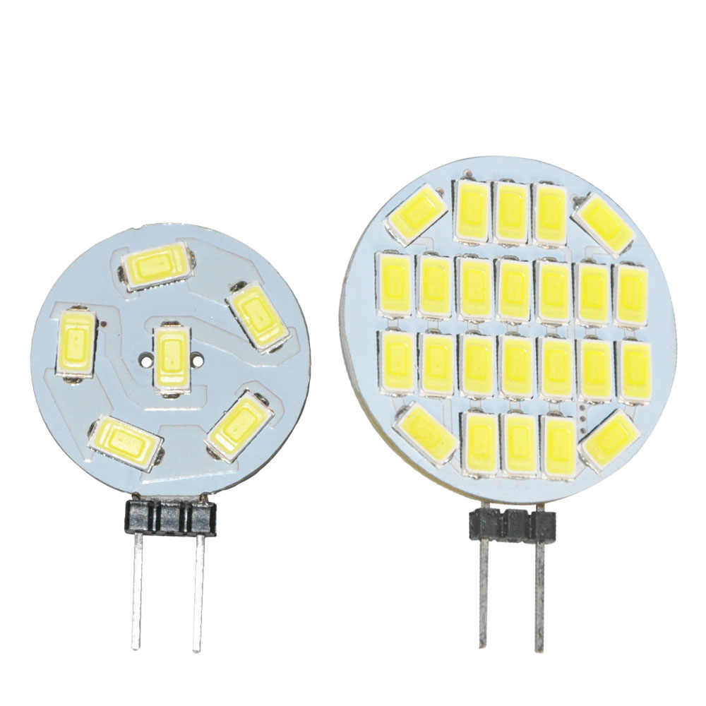 JYL LED G4 Lamp Bulb DC12V 1W 3W 5630 SMD LED Lighting Lights replace Halogen Spotlight