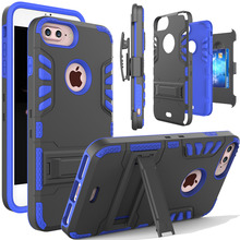Belt Clip Case For iPhone 7 6 6s Plus 5s,Hybrid Armor Card Slot Shockproof Phone Case Cover for Samsung Galaxy S8 Plus S7 edge