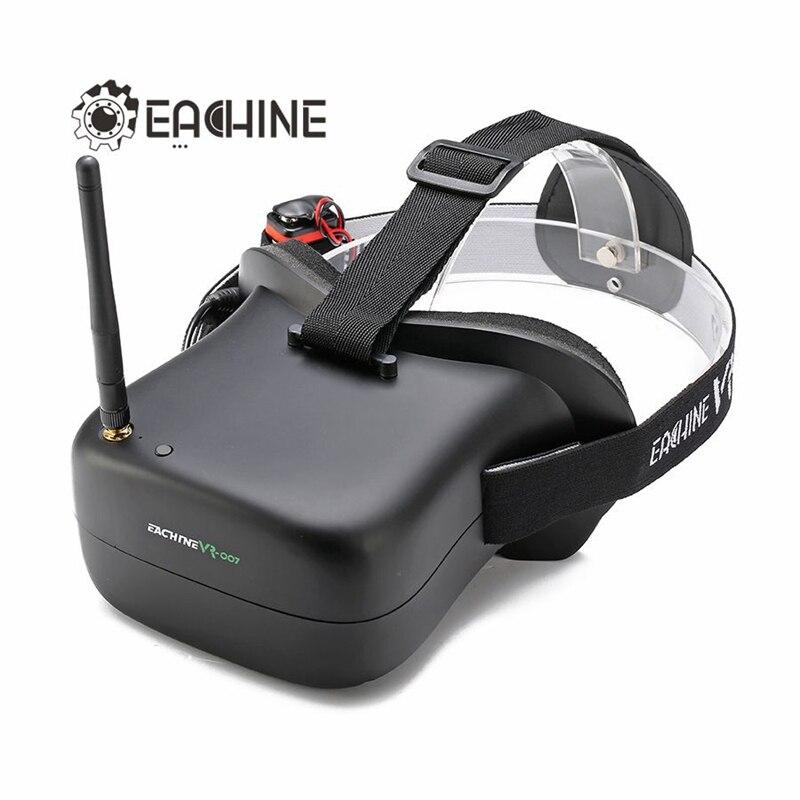 Eachine VR-007 VR007 5.8G 40CH 4.3 Inch HD <font><b>FPV</b></font> <font><b>Goggles</b></font> Video <font><b>Glasses</b></font> With 7.4V 1600mAh Battery