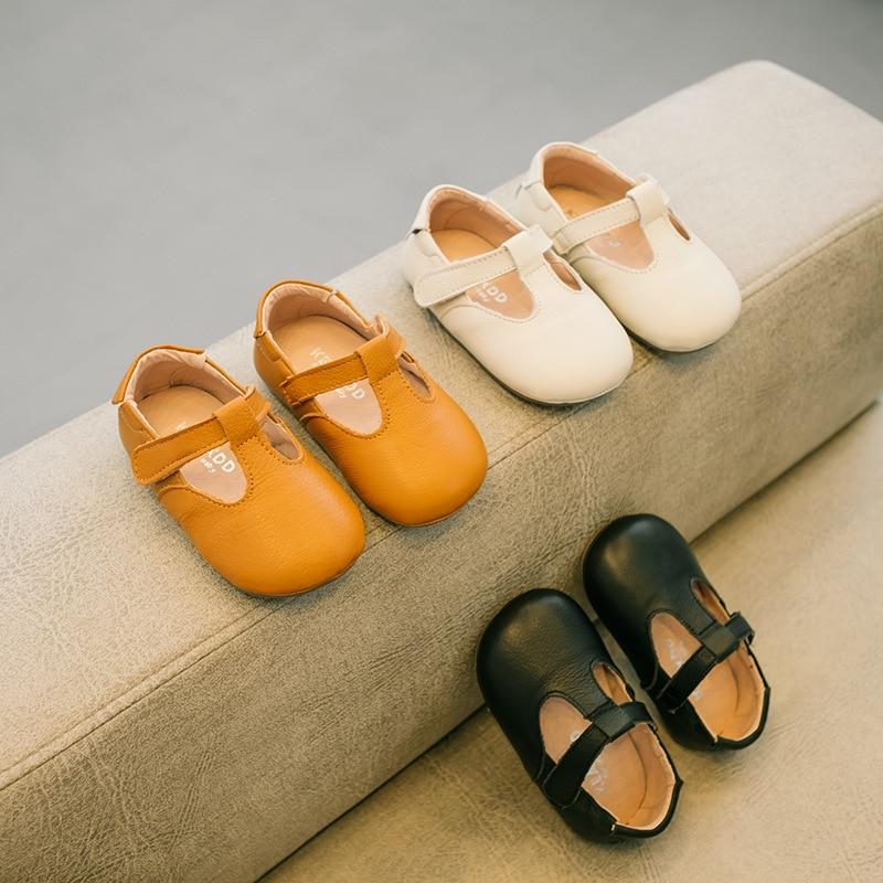 LANSHITINA bébé chaussures en cuir véritable printemps automne enfants bébé fille chaussures bébé frange chaussures 0-1years TX002