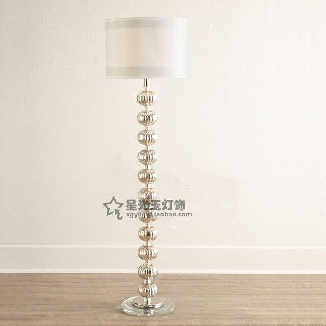 nordic ikea mode cr ative lampadaire boule de verre chambre salon restaurant caf cristal. Black Bedroom Furniture Sets. Home Design Ideas
