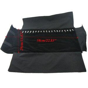 Image 5 - Takı rulo organizatör çantası seyahat kolye bilezik taşıma çantası kılıf vitrini tutucu