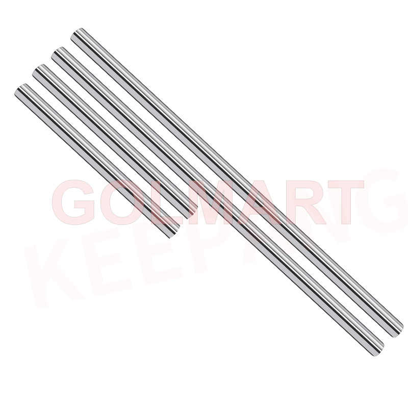 Optical Axis M6 M8 100mm 120mm 150mm Smooth Rods Linear Shaft Rail Parts Chrome Plated Guide Slide Part