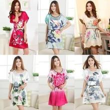 Flowers Printed Nightwear