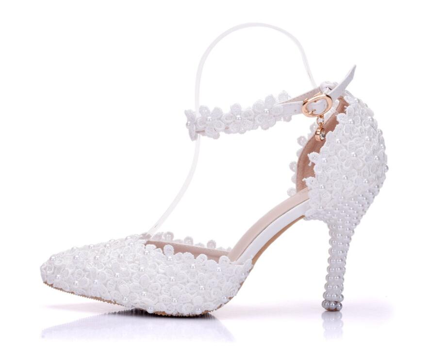 2019 Spring gold high heeled shoes pointed with silver fine with women s shoes bridesmaid wedding
