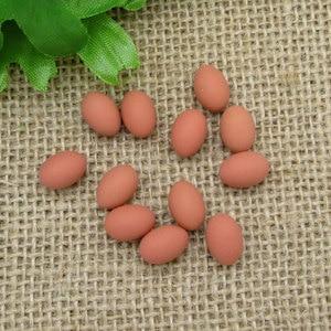 20Pcs Coffee Eggs Resin Decora